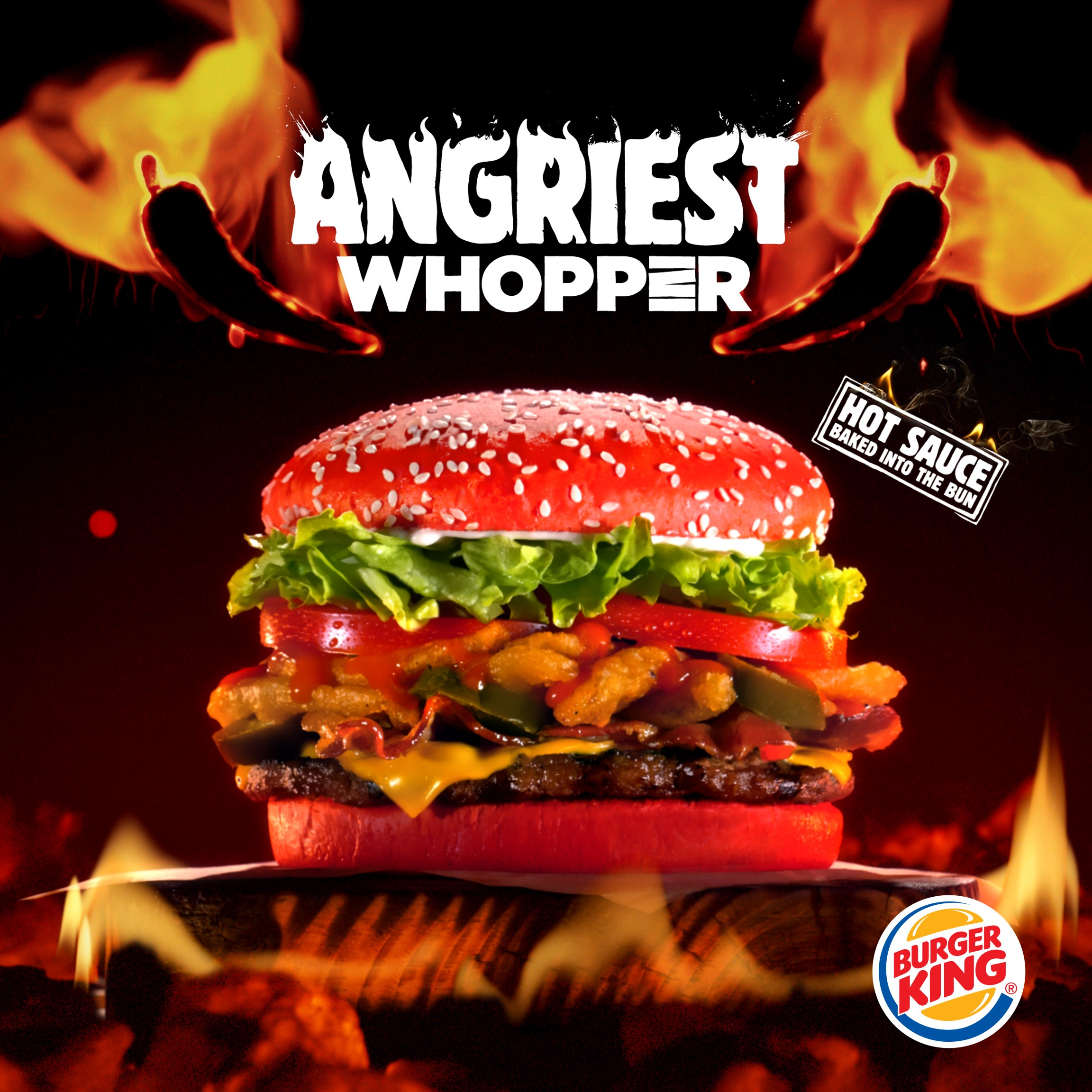 Do you dare? Burger King red bun Whopper is here | KARE11.com