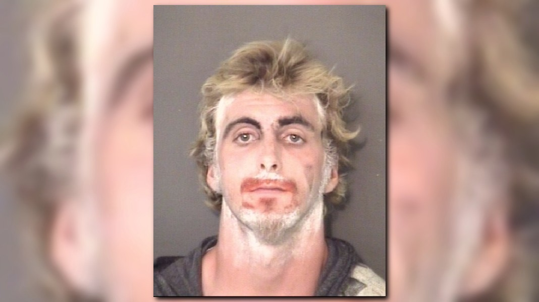 Firstcoastnews Com Creepy Clown Arrested For Trespassing Carrying Hatchet In N C Sheriff