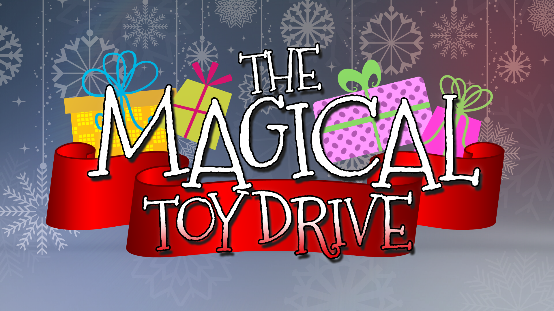 Toy Drive Logo : Donate to the magical toy drive wcnc
