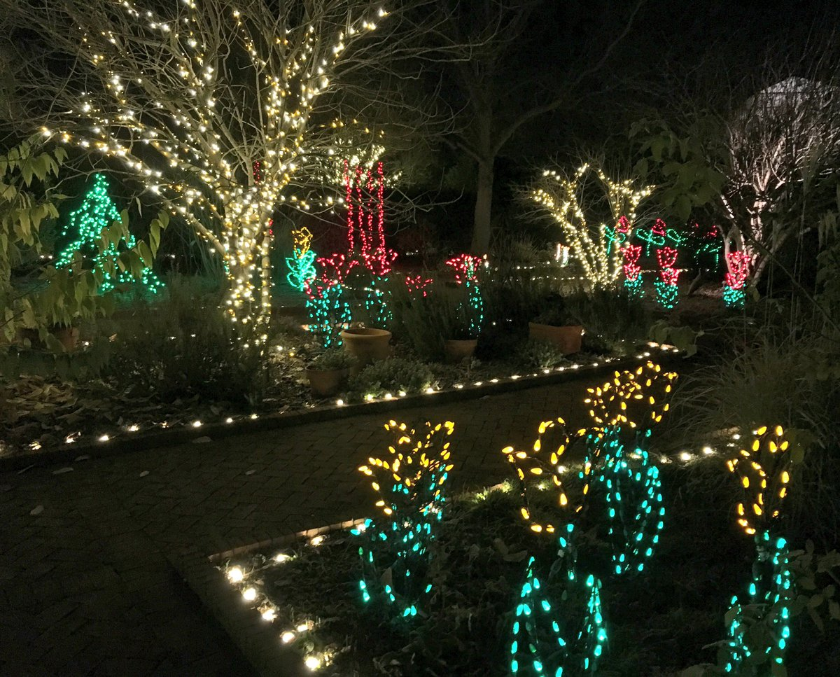 Daniel stowe botanical garden offers holiday cheer - Daniel stowe botanical garden christmas ...