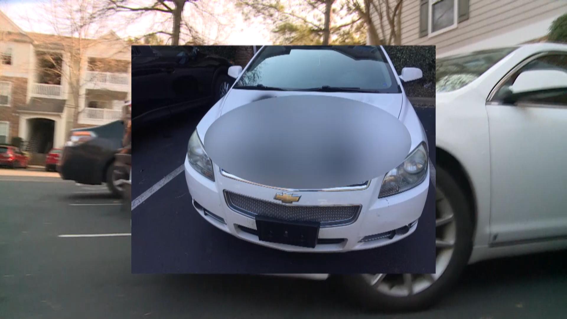 Vandals Spray Paint Cars With Racial Slurs Wcnc Com